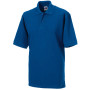 Men's classic cotton polo bright royal blue m