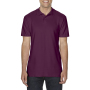Gildan Polo Double Pique Softstyle for him maroon 3XL