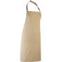 Colours bib apron khaki one size