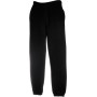 Classic elasticated cuff jog pants (64-026) black l