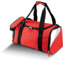 Middelgrote sporttas 55cm red / white / light grey 55 x 29 x 25 cm