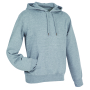 Stedman Sweater Hood Active for him grey heather XXL