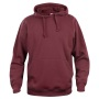 Basic hoody bordeaux m