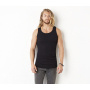 2x1 Rib Tank Top Black XL