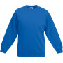 Kids classic set-in sweat (62-041-0) royal blue 3/4