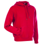 Stedman Sweater Hood Active for him crimson red S