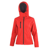 Core ladies tx performance hooded soft shell jacket