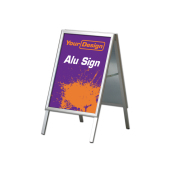 Sign Alu stand