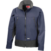 Activity softshell jacket navy / black xl
