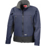 Activity softshell jacket navy / black m