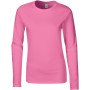 Softstyle® fitted ladies' long sleeve t-shirt azalea s