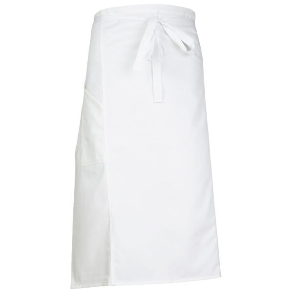7812 APRON COLLAR WHITE L