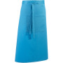'colours' bar apron turquoise one size