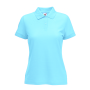 65/35  Lady-Fit Polo Sky Blue XXL