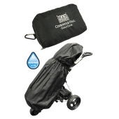 Zwarte Golf Bag Rain Cover