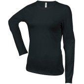 Carla – ladies' long sleeve crew neck t-shirt