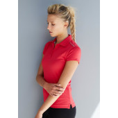 Ladies' short-sleeved polo shirt