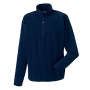 1/4 Zip Microfleece French Navy 2XL