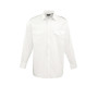 Pilot long sleeved shirt white xl (44.5 (17.5))