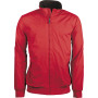 Jas met fleecevoering red / dark grey xl