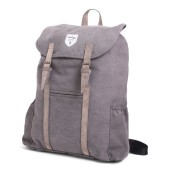 Vintage Canvas Backpack Adventurer Grey