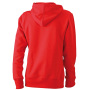 Ladies' Hooded Sweat rood