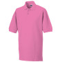 Men's classic cotton polo fuchsia l