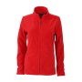 Ladies' Basic Fleece Jacket rood