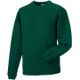 Heavy duty crew neck sweatshirt bottle green xl