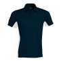 Flag - tweekleurige polo navy / white xxl
