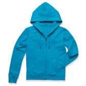 Stedman Sweater Hood Zip Active for her