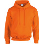 Heavy blend™ classic fit adult hooded sweatshirt safety orange xl