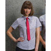 Women's Tailored Fit Poplin Shirt SSL