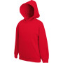 Kids classic hooded sweat (62-043-0) red 7/8