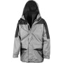 Alaska 3-in-1 jacket grey / black xl