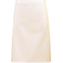 'colours' mid length apron natural one size