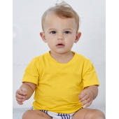 Baby Jersey Short Sleeve Tee - White