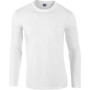 Softstyle® euro fit adult long sleeve t-shirt white s