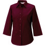Ladies' 3/4 sleeve easy care fitted shirt port xl