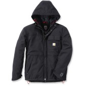 Shoreline quilted hooded jacket