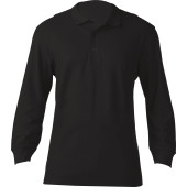 Premium men's long-sleeved polo shirt