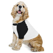 Dog Poly-Cotton 3/4 Sleeve Raglan T-Shirt