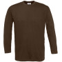 Exact 190 lsl t-shirt brown xxl