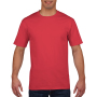 Gildan T-shirt Premium Cotton Crewneck SS for him red L