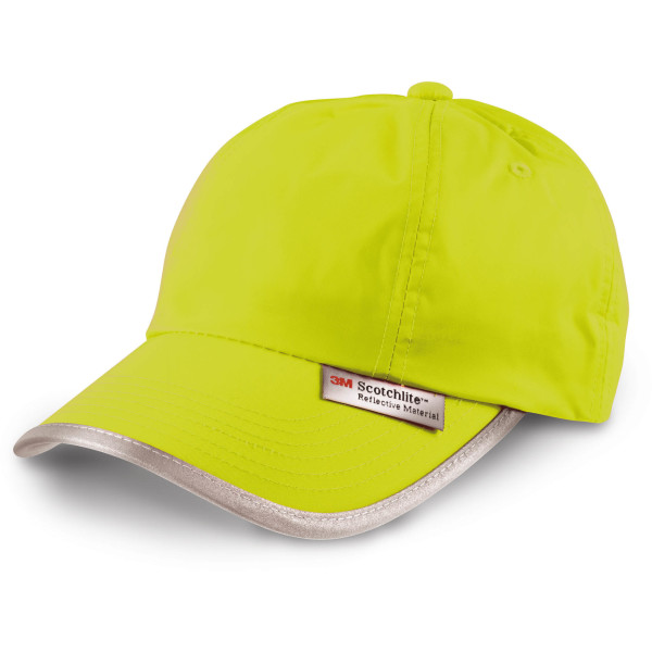 Cap with reflective details