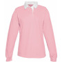 Damesrugbypolo pink s