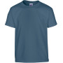 Heavy cotton™ classic fit youth t-shirt indigo blue (x72) 5/6 (s)