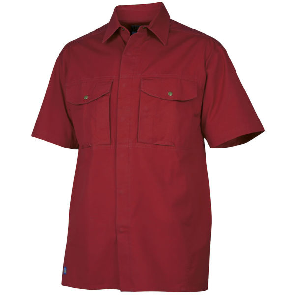 5205 S.S SHIRT RED XS