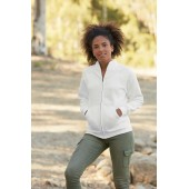Ladies' classic full zip sweat jacket (62-116-0)