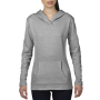 Anvil Sweater Hooded French Terry for her Heather Grey-35% Korting M
